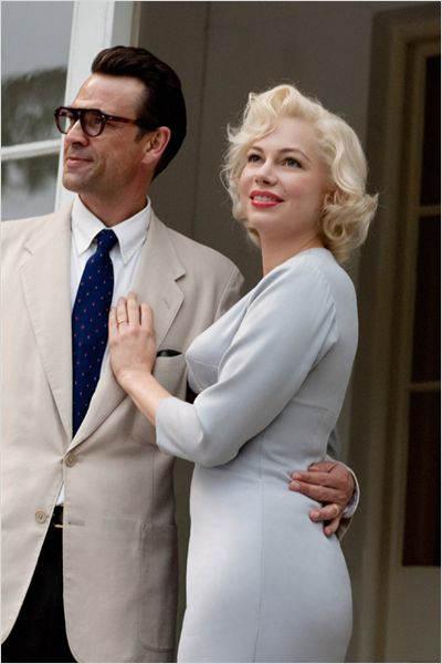 La Marylin du film et son mari de l'époque, Arthur Miller