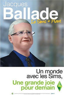 Jacques Cheminade version sims