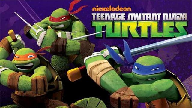 les 4 tortues redesignées version animé en synthèse