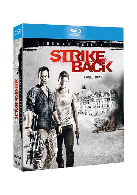 Photo du boitier Blu-Ray de Strike Back