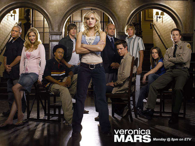 L'équipe de Veronica Mars en 2007
