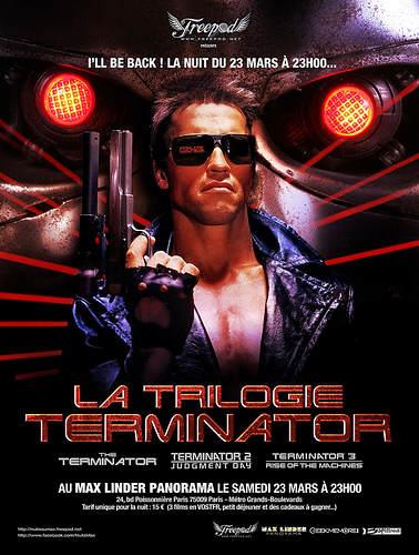 L'affiche de la nuit Terminator