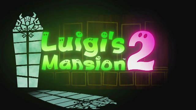 Logo de Luigui's Mansion 2