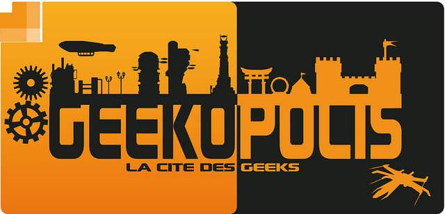 Le logo de Geekopolis