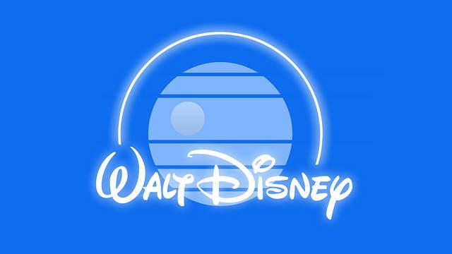 Logo Disney revisité avec la patte StarWars