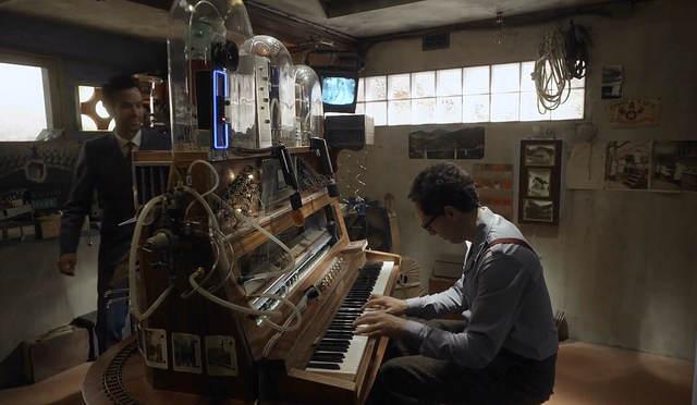 Le pianocktail en action