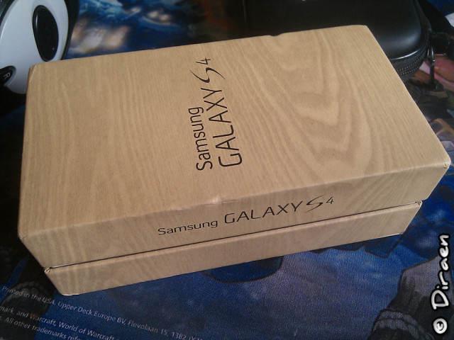 Boite du Galaxy S4