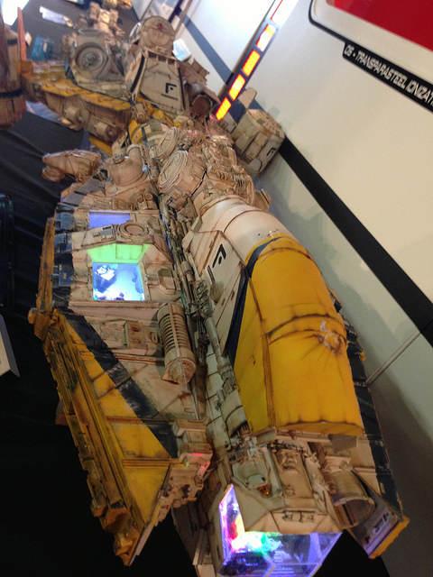 Metropolis - maquette de vaisseau
