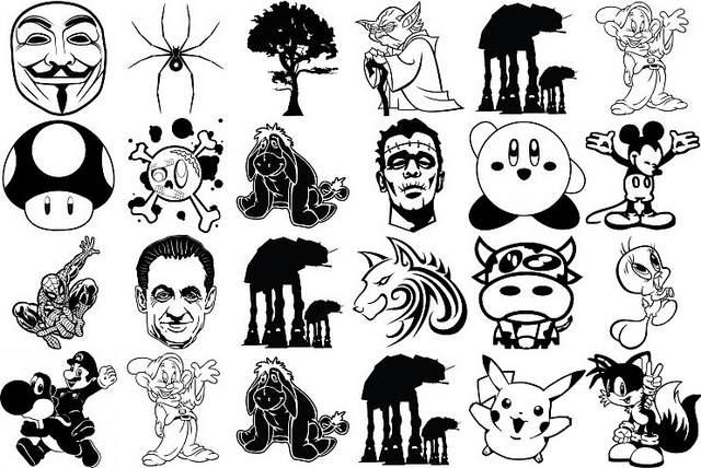 Selection des visuels Popsticker préférés de Diraen
