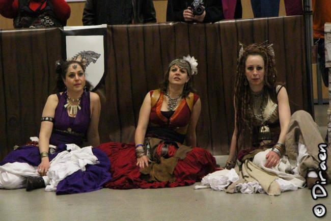 Les filles de l'arène d'Avalon