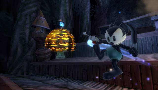 Oswald est un lapin et l'ancêtre de Mickey, ici il est son plus fidèle assistant...