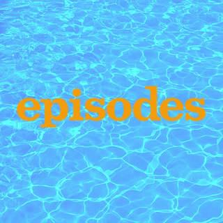 Episode - logo de la série sur fond d'eau de piscine
