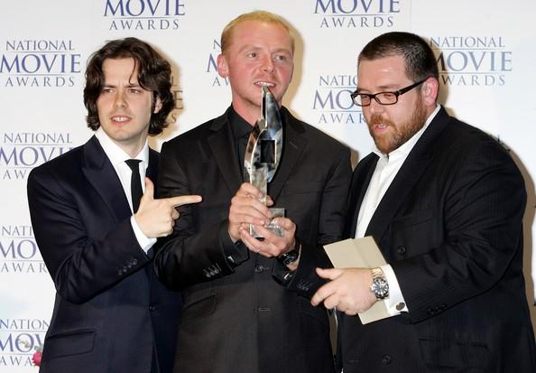 Edgar Wright, Simon Pegg et Nick Frost
