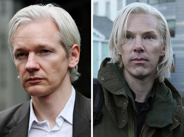 Julian Assange vs Benedict Cumberbatch