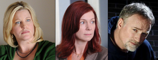 Annu Gunn, Carrie Preston et David Fincher