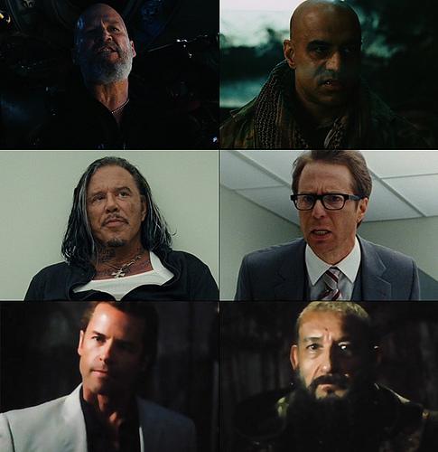Les Vilains de Iron Man