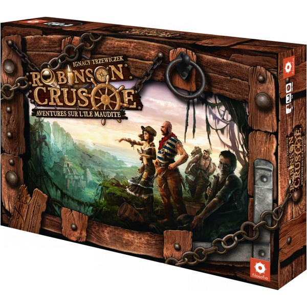 Robinson Crusoé, le jeu de plateau