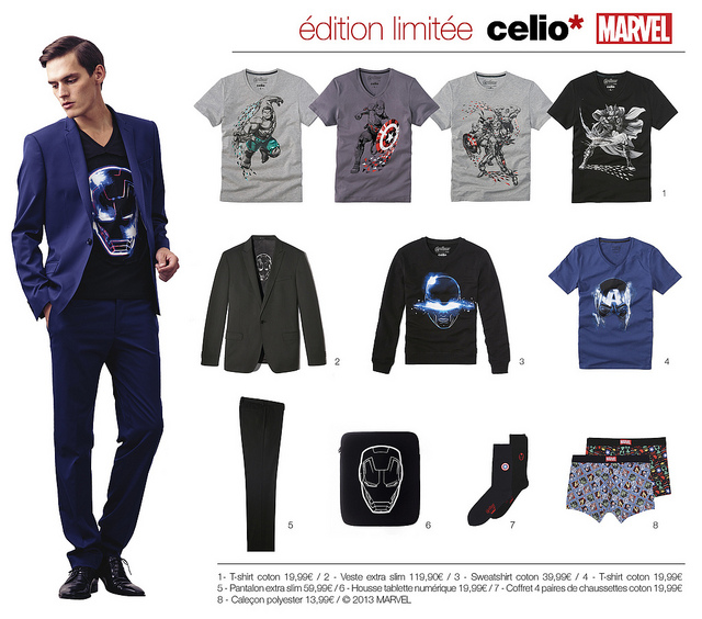 La collection Marvel de Celio
