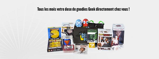 Example de Contenu du Geek Pack
