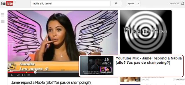 YouTube Mix : Allo
