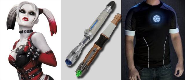 Harley Quinn, Sonic ScrewDrivers et T-Shirt Irom Man 3