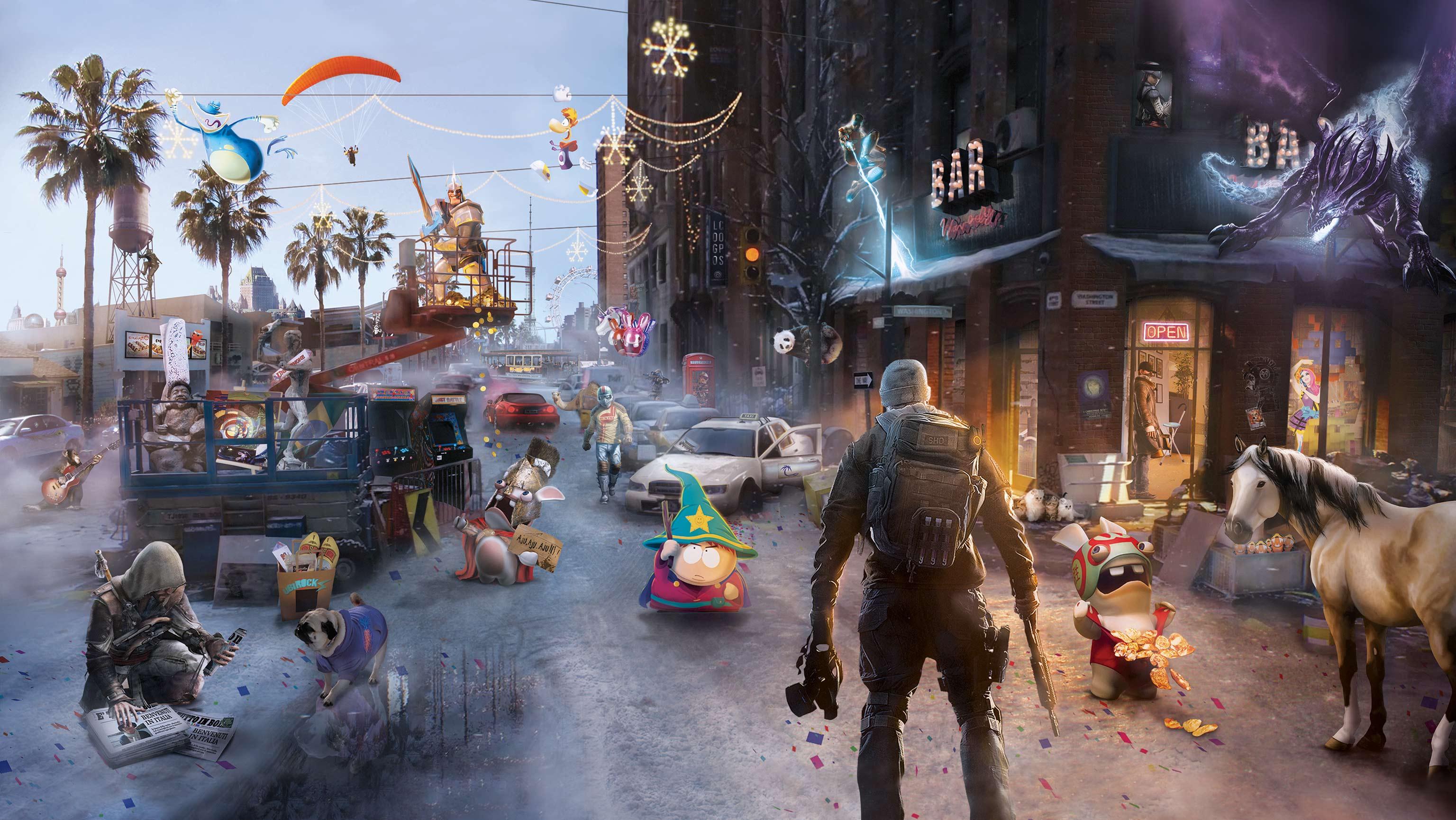 Meilleurs vœux pour 2014 de la part d'Ubisoft