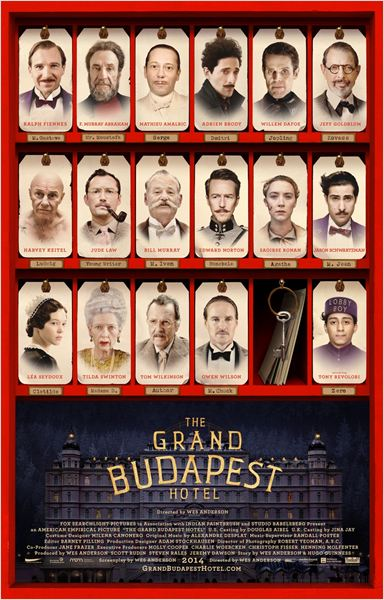 [Critique] The Grand Budapest Hotel – Wes Anderson