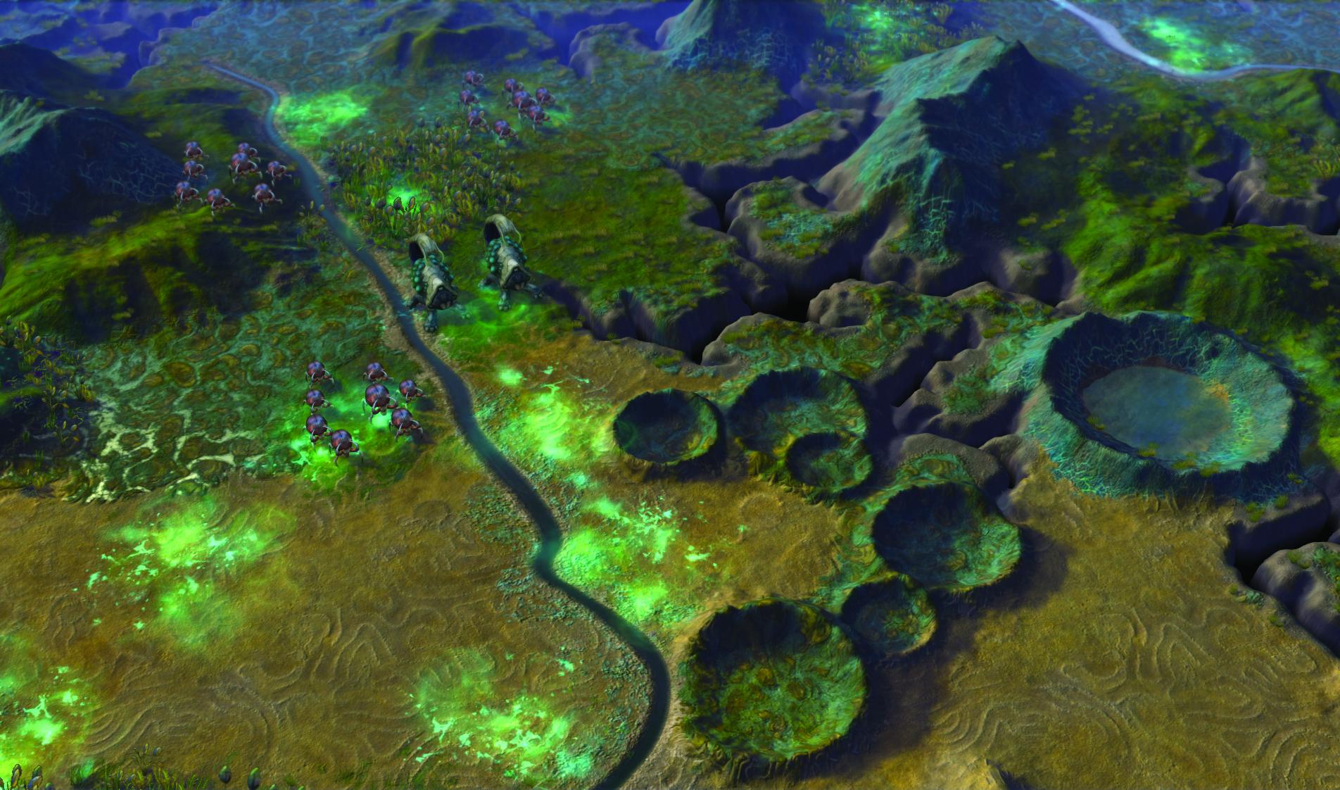 Capture ingame de Civilization : Beyond Earth