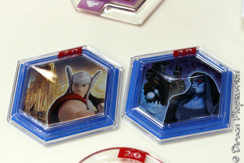 De nouveaux Power Discs hexagonaux sont livrés avec Disney Infinity 2.0