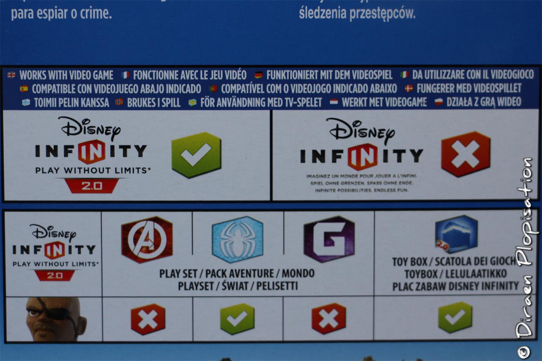 Le tableau de compatibilité de Nick Fury