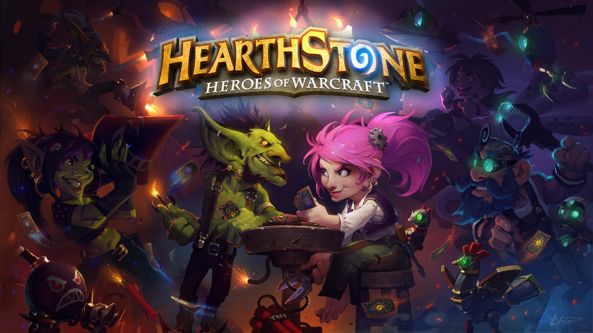 BlizzCon 2014 – HearthStone – Gobelins et Gnomes et autres nouveautés