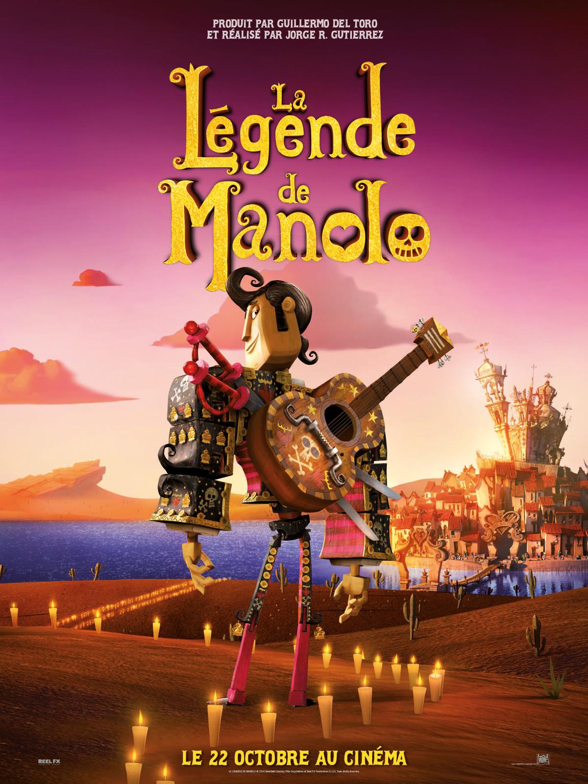 [Critique] La Légende de Manolo – Jorge R. Gutierrez