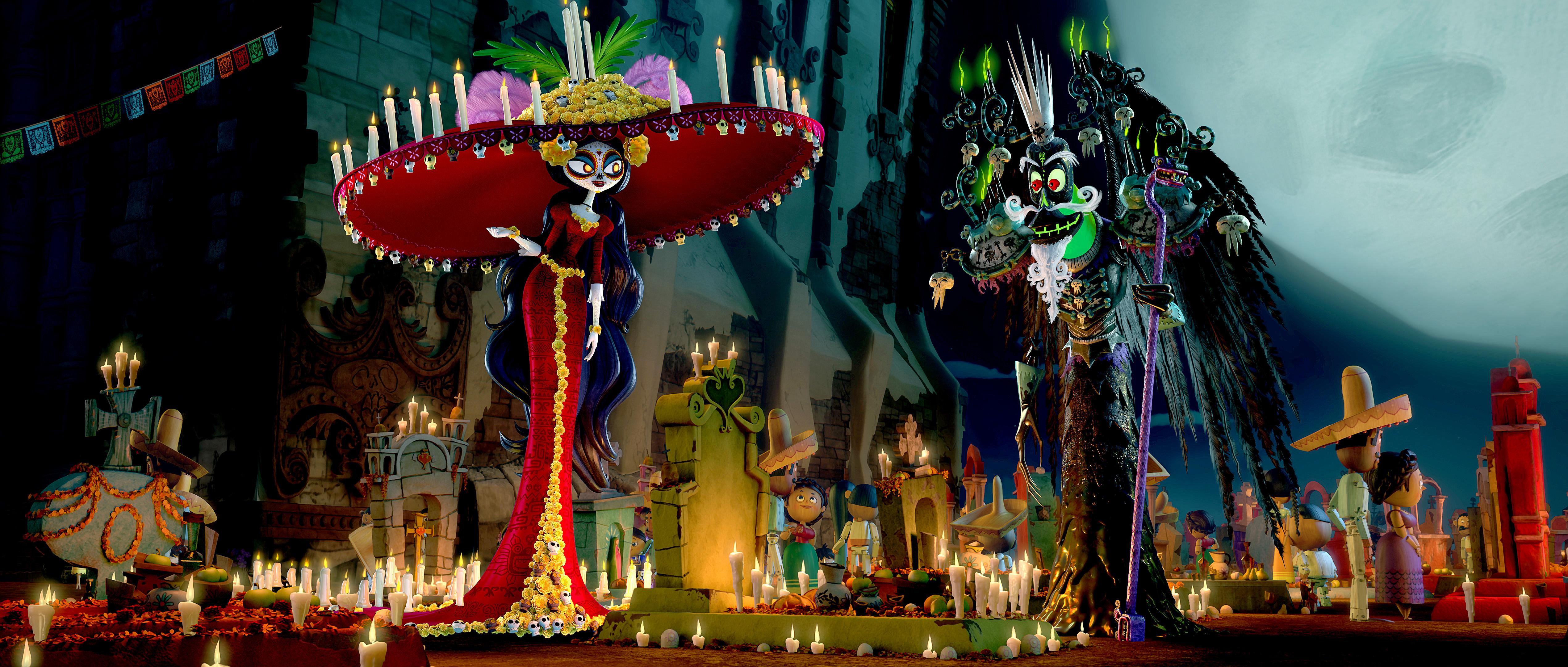 La legende de Manolo - La Muerte et Xibalba