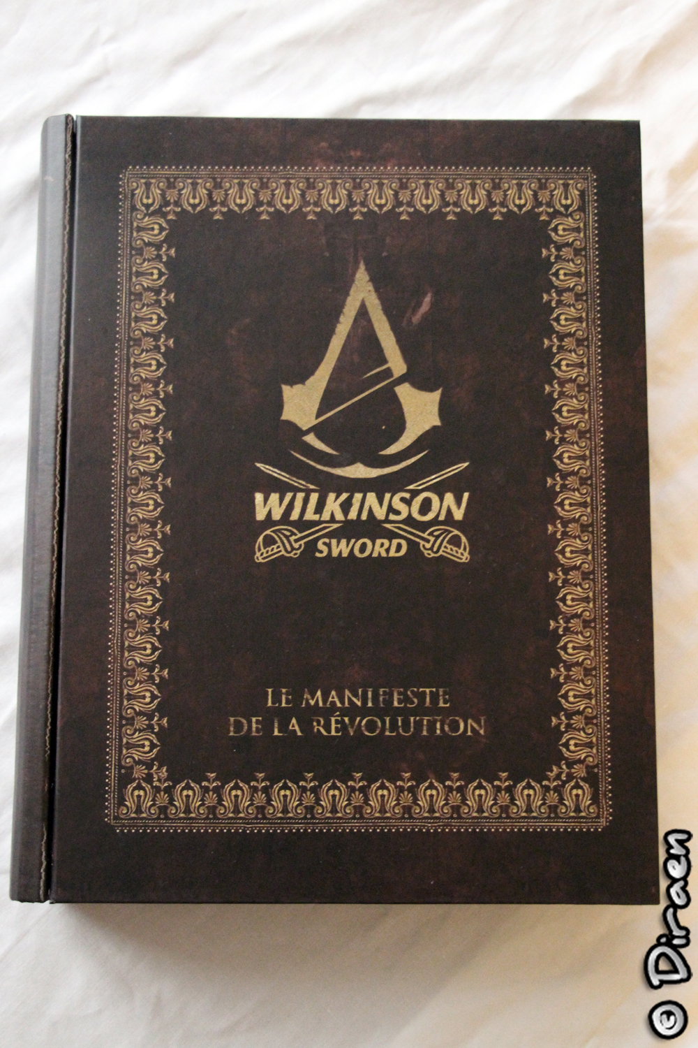 [Déballage] Buzz Kit Wilkinson Sword x Assassin's Creed Unity