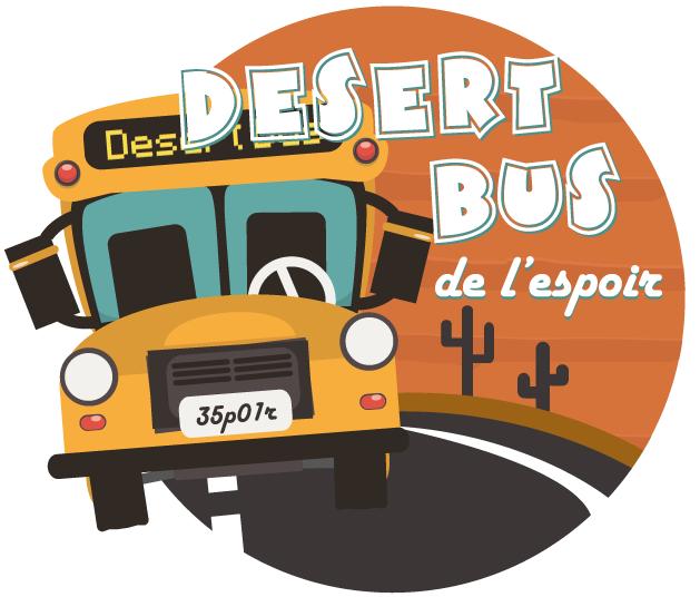 Desert Bus de l'Espoir 2015 – J-5
