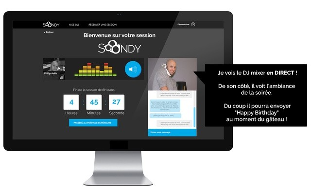 Interface Soondy