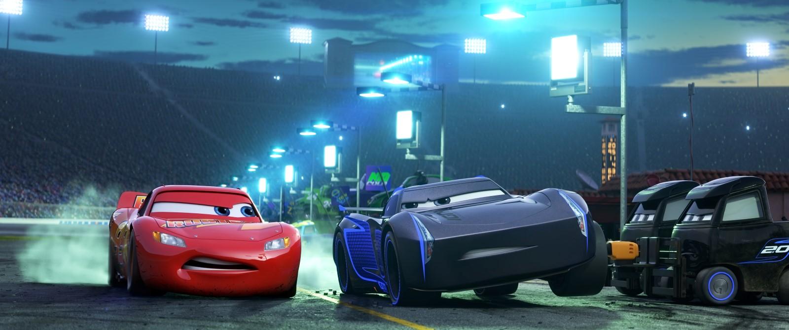 Cars 3 - Flash et le jeune Rookie qui lui fait de l'ombre, Jackson Storm