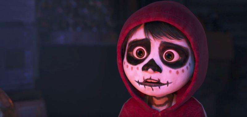 Coco - Miguel déguisé en défunt