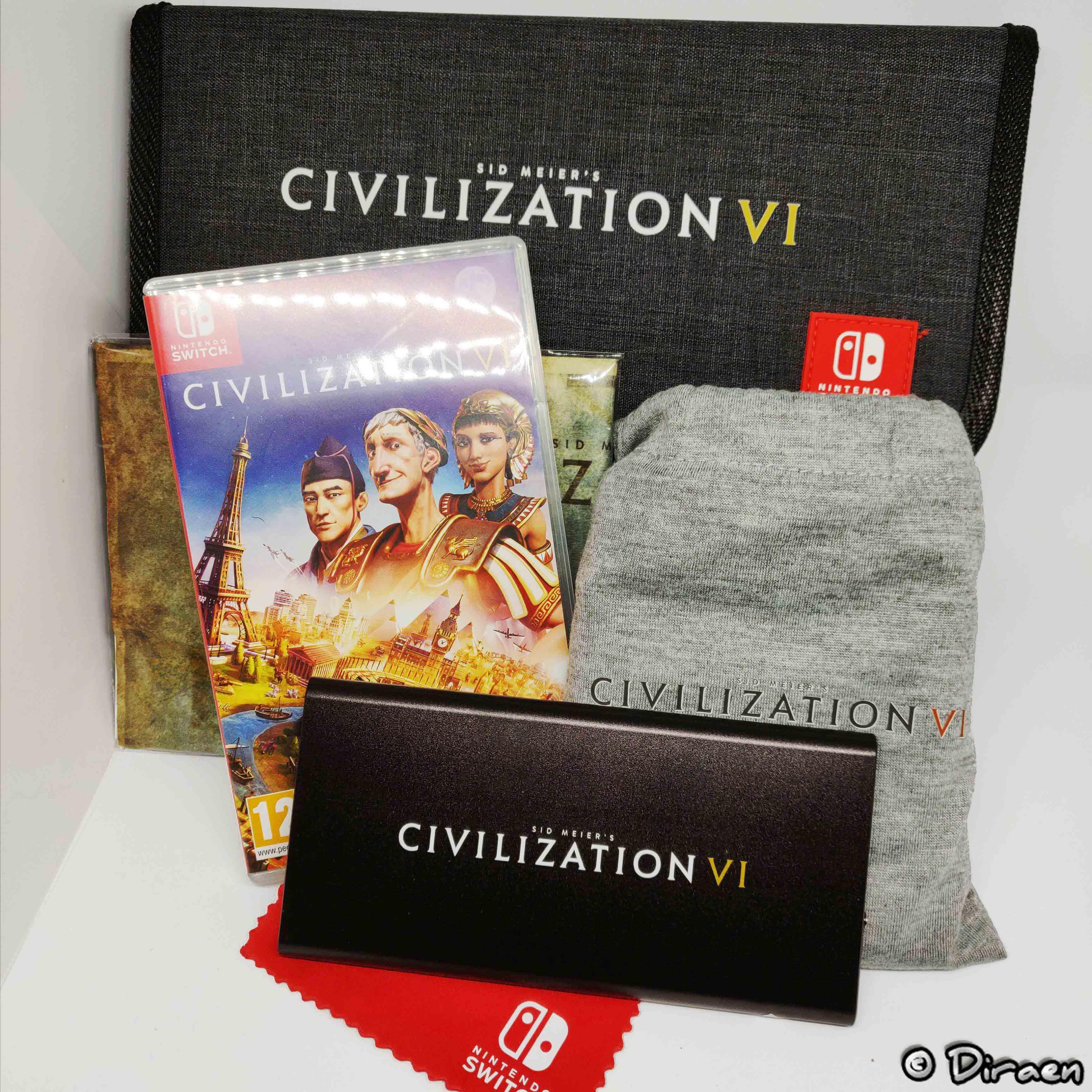 Press Kit complet Civilization VI sur Switch