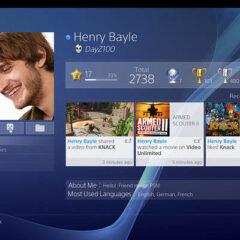 La vidéo de l'interface sociale de la PS4 et moi